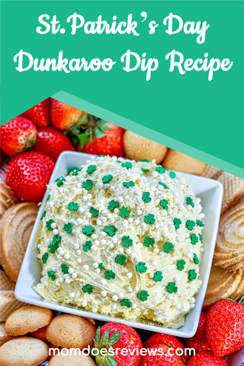 St. Patrick's Day Dunkaroo Dip #Recipe #funfood #sweettreats