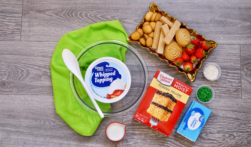 St. Patrick's Day Dunkaroo Dip ingredients needed