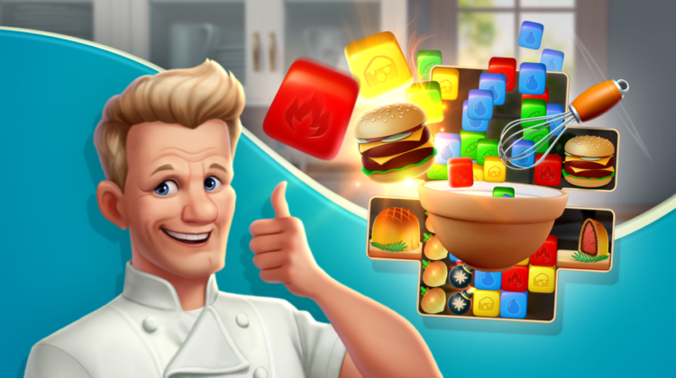 Chef Blast Gordon Ramsey thumbs up