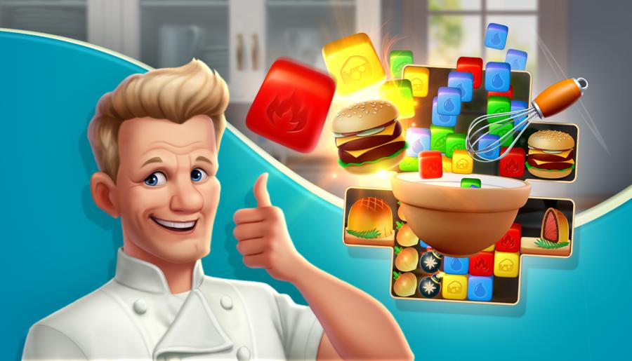 Chef Blast Gordon Ramsey thumbs up