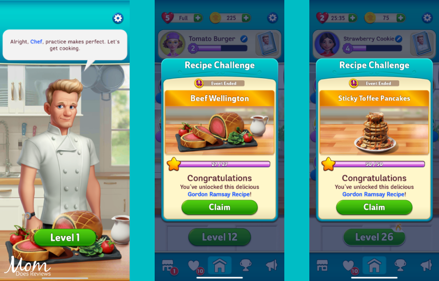 Play Gordon Ramsay's Chef Blast Mobile Game- Inspired by Culinary Genius!