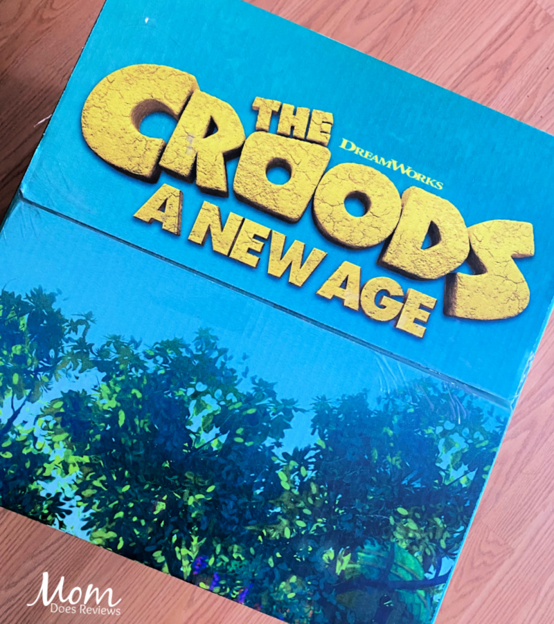 The Croods: A New Age releases on Blu-ray/DVD tomorrow! #CroodsNewAgeUnboxing