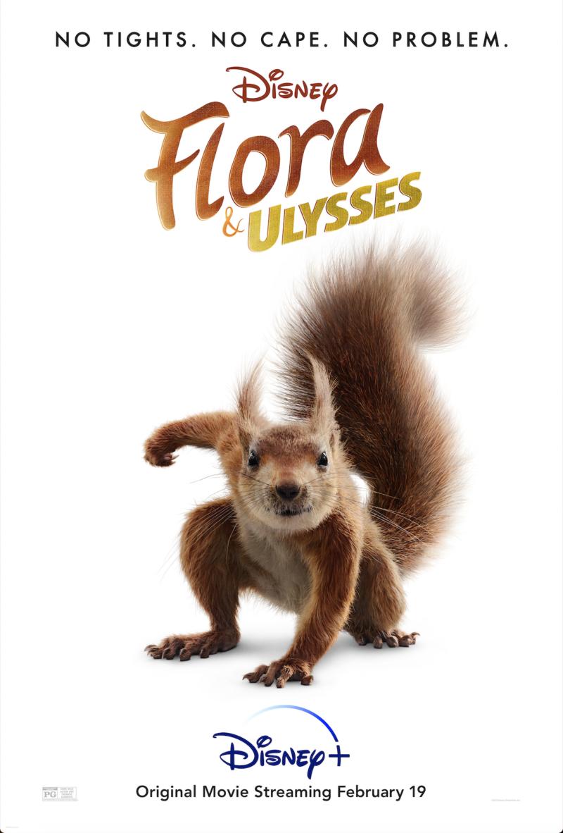"Disney's ""Flora & Ulysses"" is on Disney+ Now! #FloraAndUlysses"