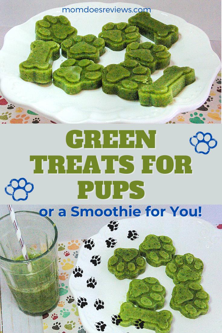Green treats for pups