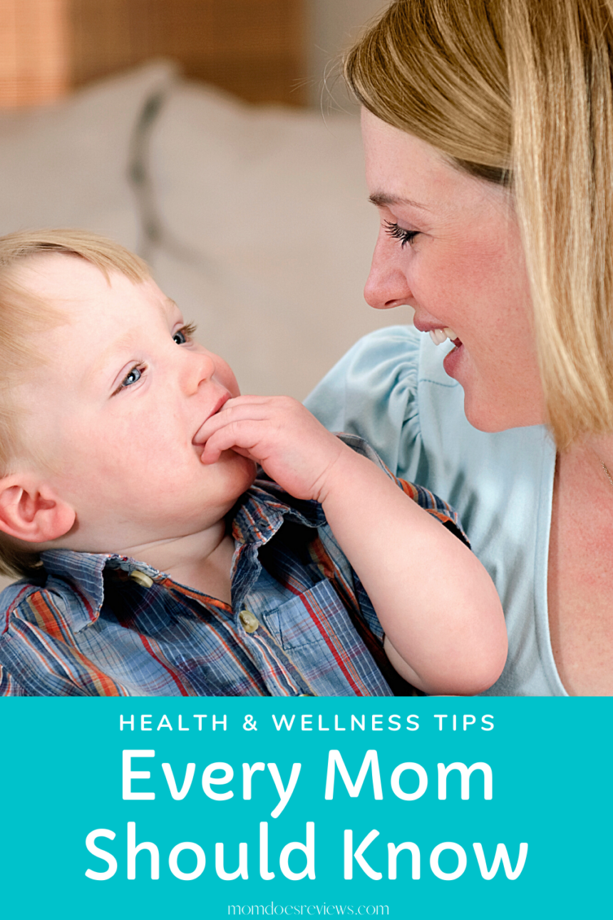 9 Health and Wellness Tips Every Mom Should Know