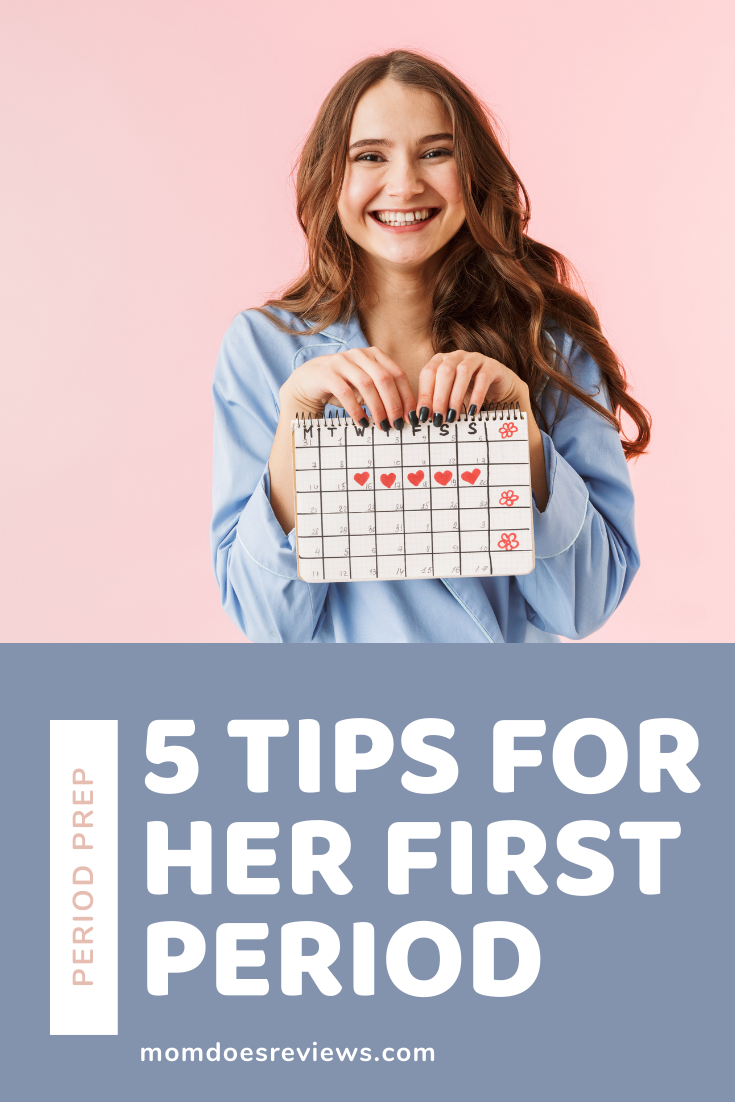 5 Tips for Coaching Your Daughter Through Her First Menstrual Cycle