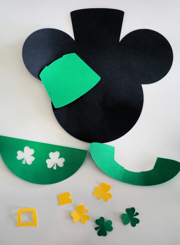 Leprechaun Mickey Craft for Kids