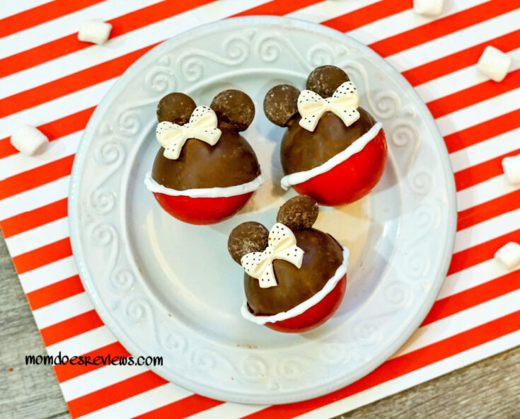 Minnie Mouse Hot Chocolate Bombs