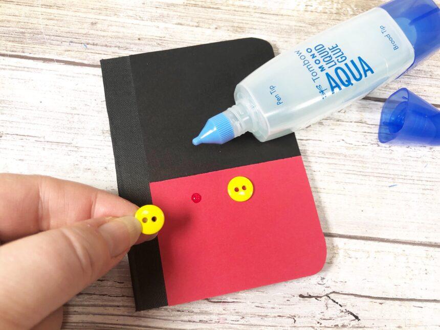 DIY Mickey and Minnie Notebooks-