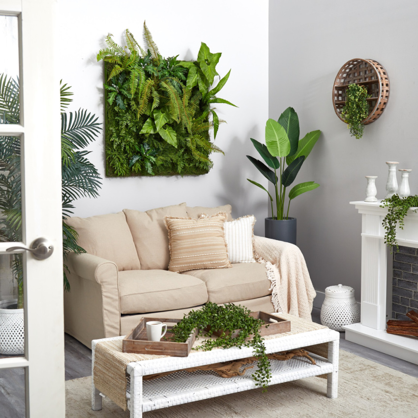 artificial plants by Nearly Natural