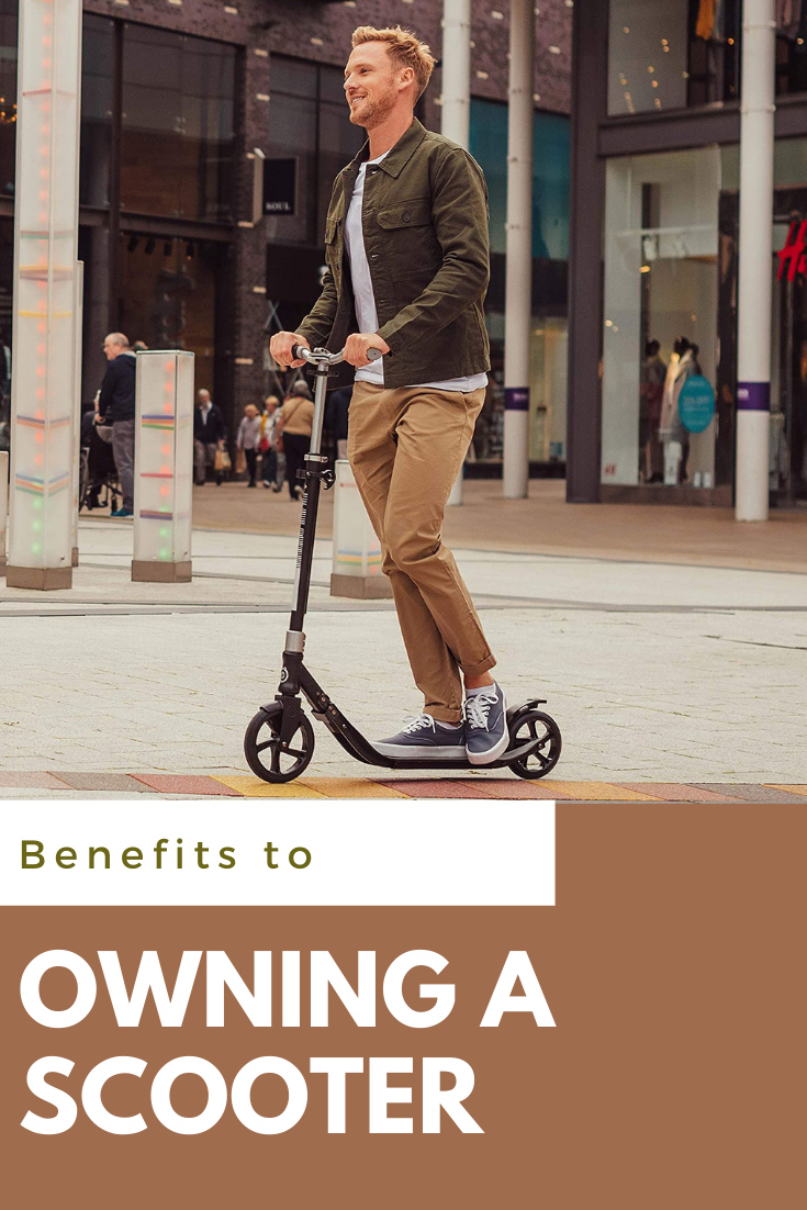 Top Reasons to Own a Scooter