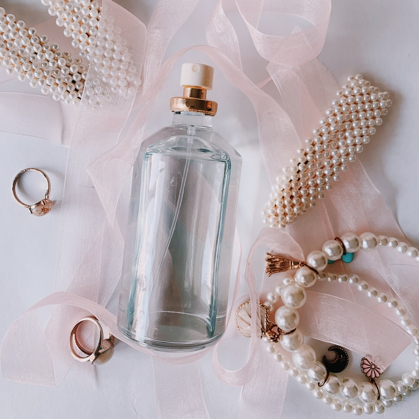 pearls and perfume
