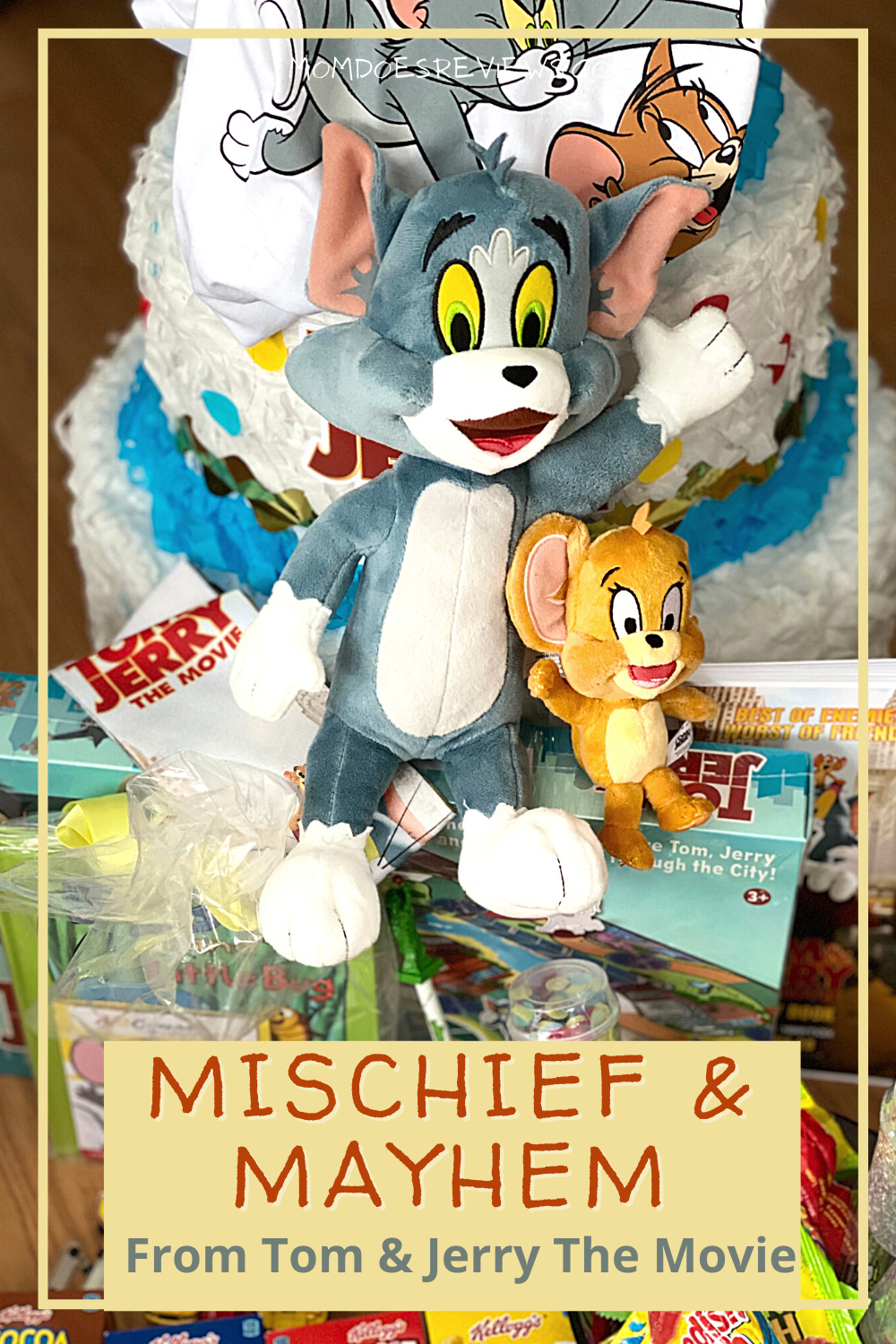 m and Jerry are on the Big Screen! Don't miss the Activity Guide! #TomAndJerryMovie #printable #Moviefun