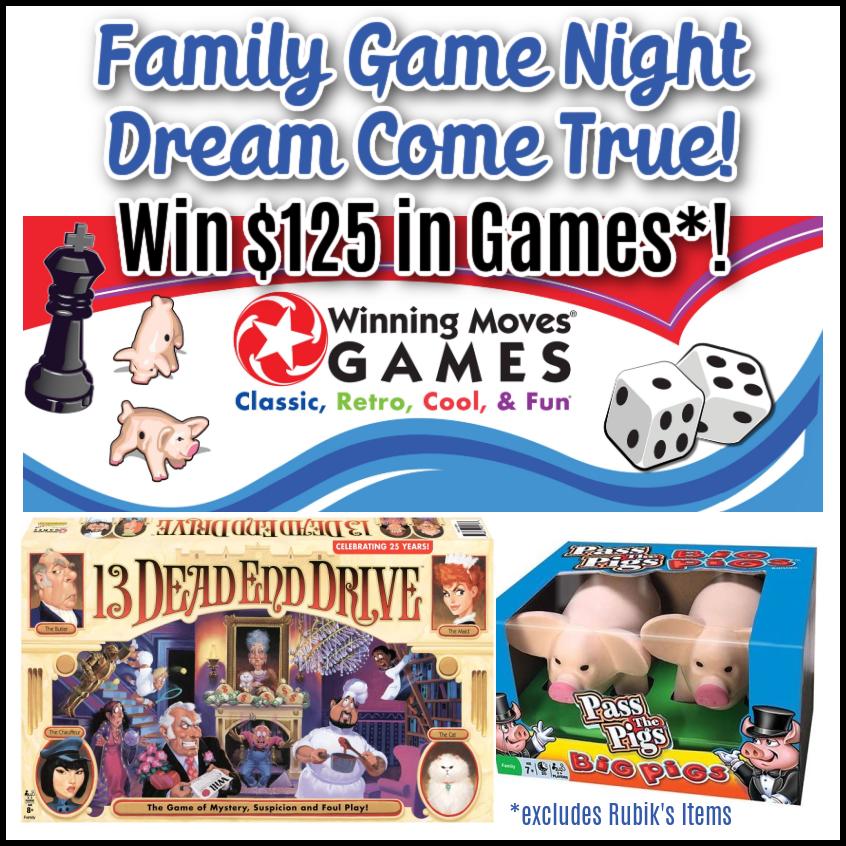 #Win $125 in Winning Moves Games! It's a #FamilyGameNight Dream come true!