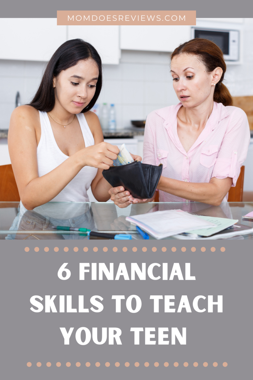 6 Money-Management Skills to Teach Your Teenager