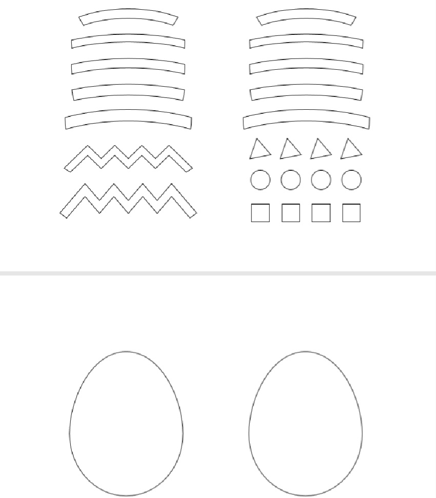 Easter Egg Paper Craft Template