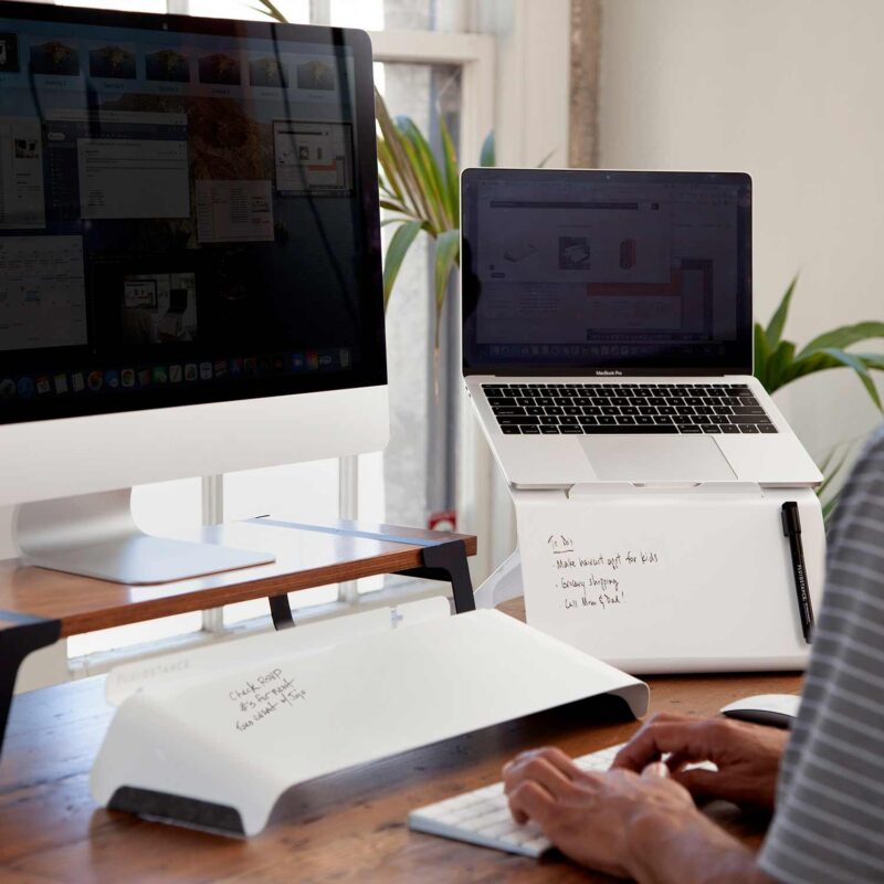 Lift Your Laptop with the Laptop Riser with Integrated Whiteboard #SpringIntoSummerFun