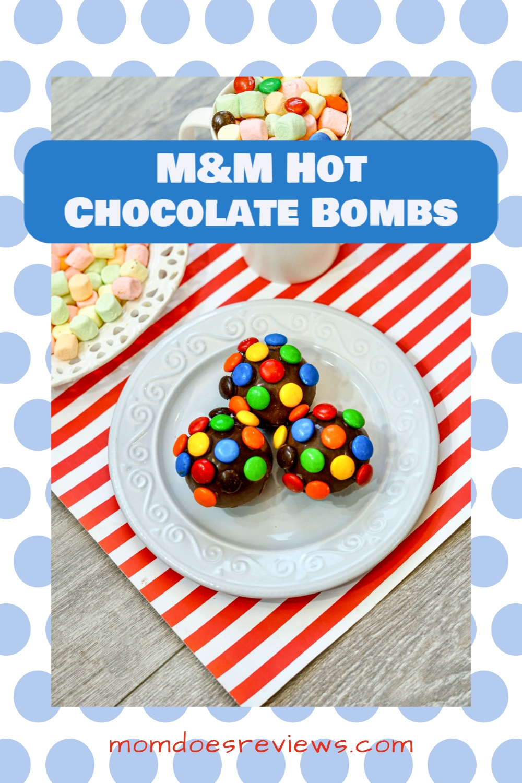 How to Make M&M Hot Chocolate Bombs #hotcocoabombs #funfood #sweettreats #yum