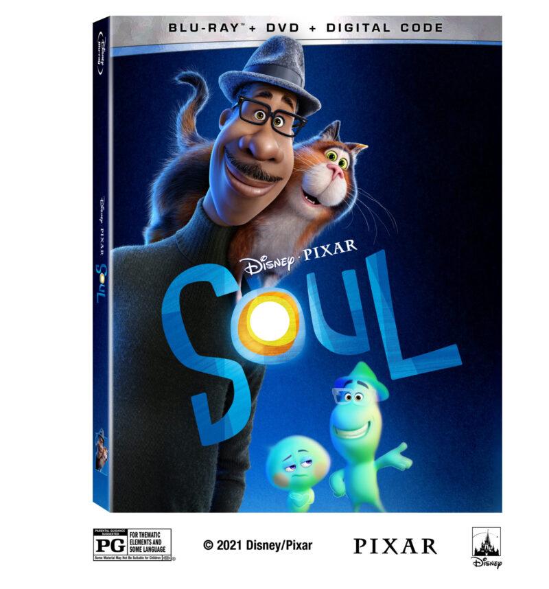 Soul Disney PIxar DVD