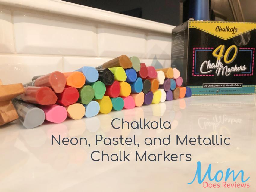 chalkola Neon, Pastel and Metallic Colors Chalk Markers