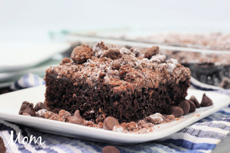 Double Chocolate Crumble Cake