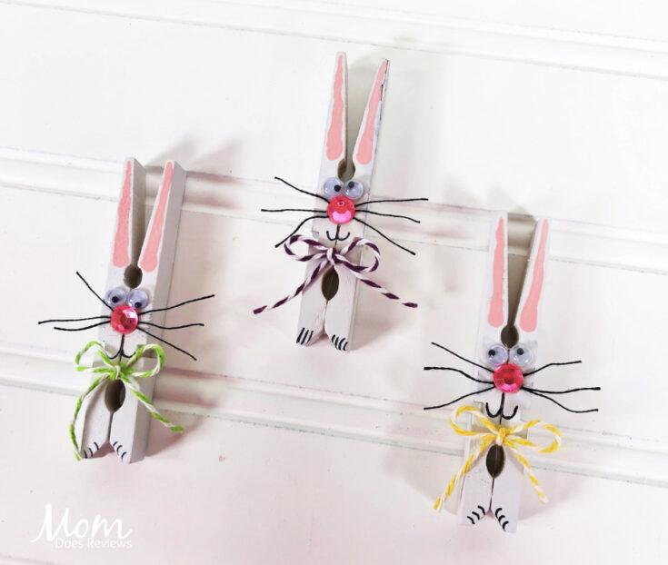 Clothespin Bunny