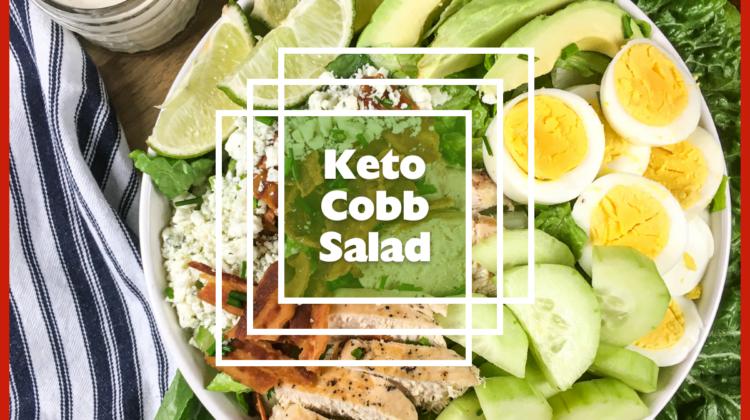 Keto Kobb Salad #ketodiet #salad #easylunchidea
