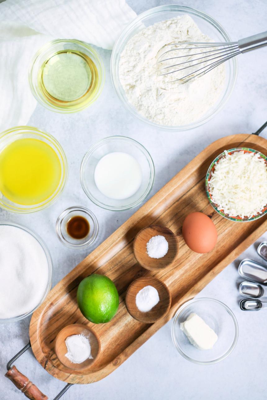 Coconut Lime Sugar Cookie Recipe