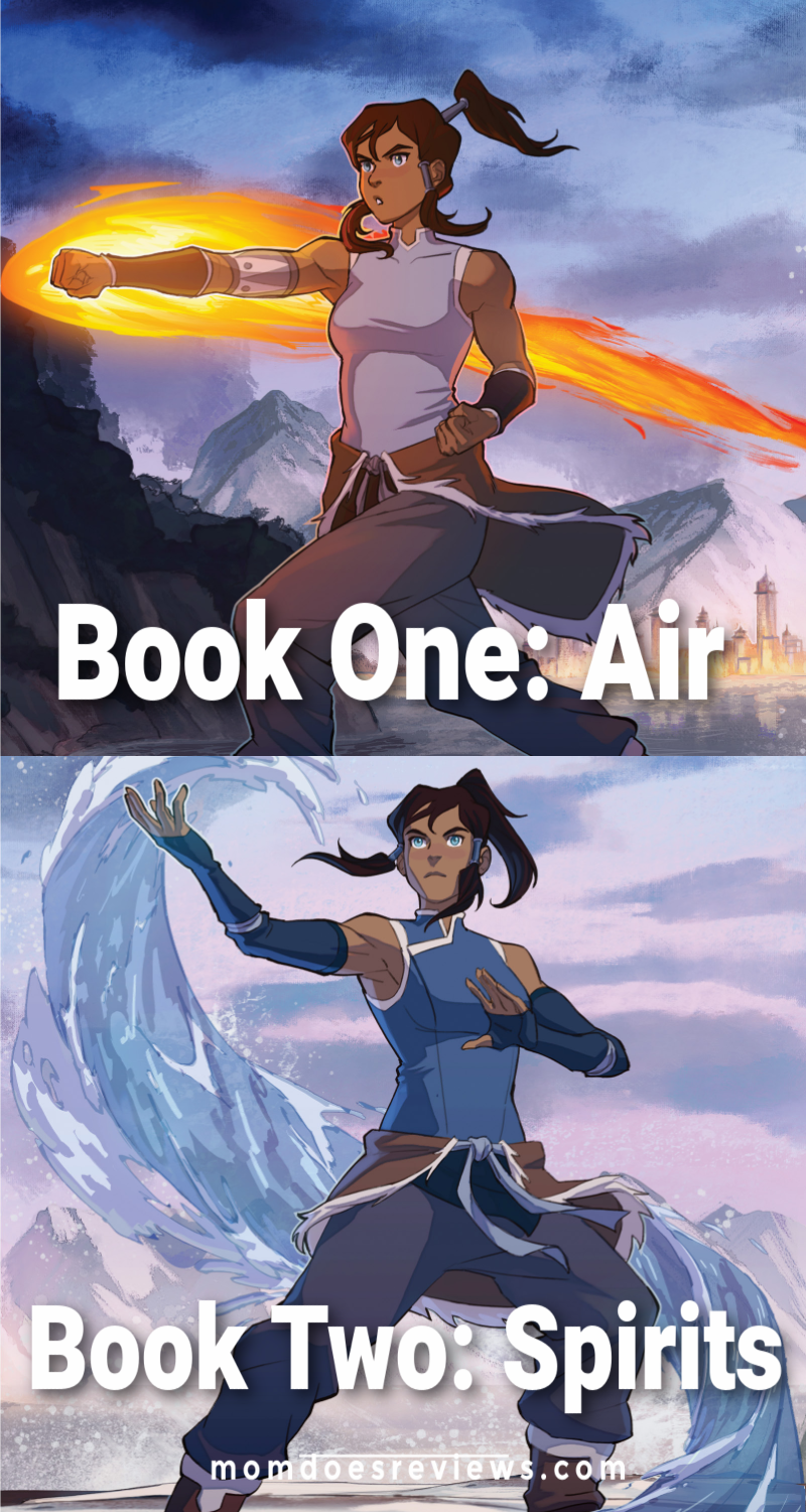 Legend of Korra Book one and Book Two: Spirits