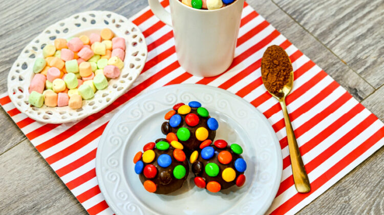M&M Hot Chocolate Bombs