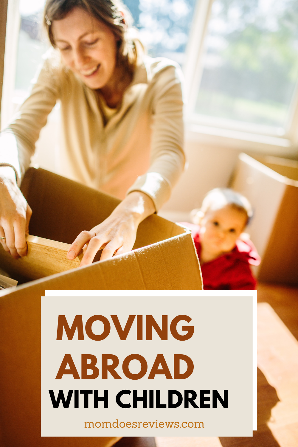 Top Tips For Moving Abroad With Children