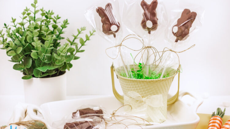 Chocolate Covered Peeps Bunnies