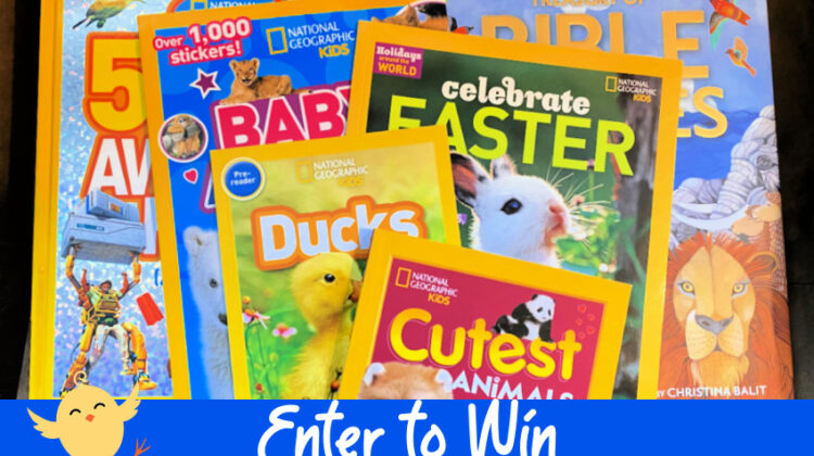 #Win Nat Geo Kids Easter & Spring Books Prize Pack!