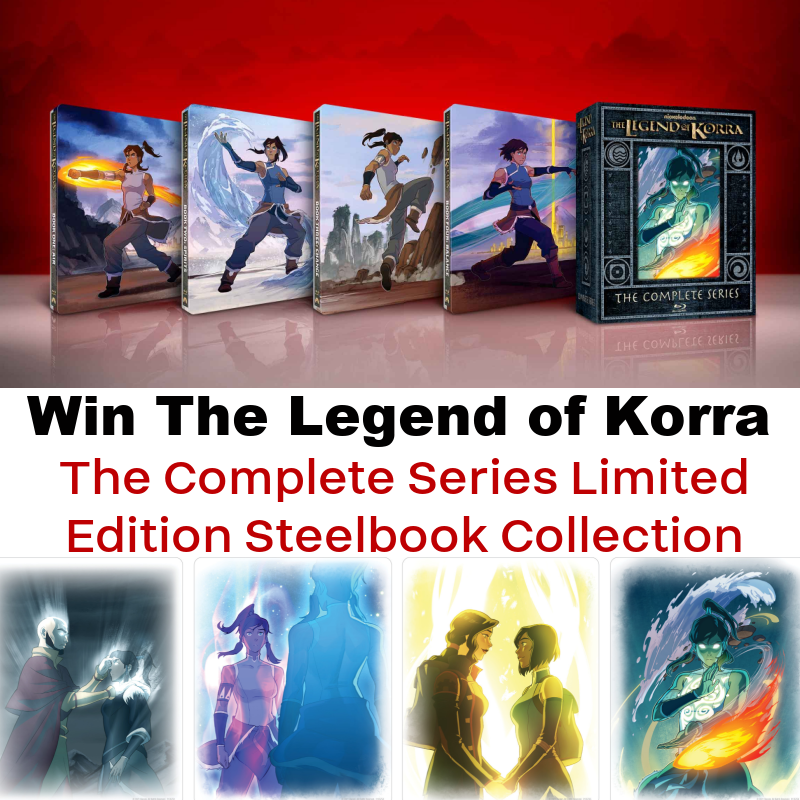 #Win The Legend of Korra – The Complete Series Limited Edition Steelbook Collection