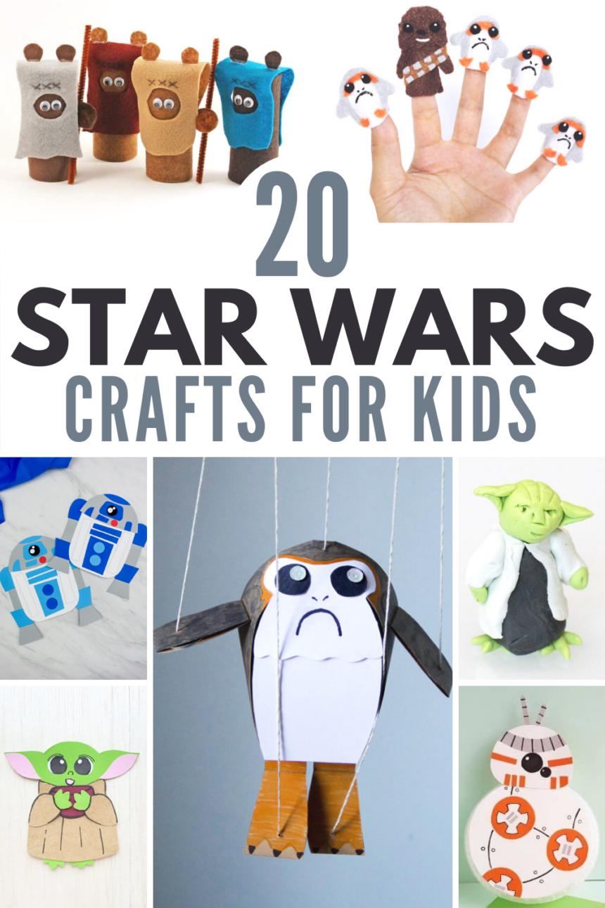 20+ Star Wars Crafts for Kids!