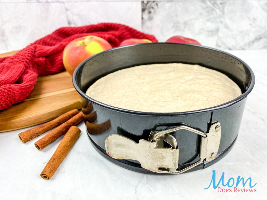 Instant Pot Apple Cinnamon Cheesecake