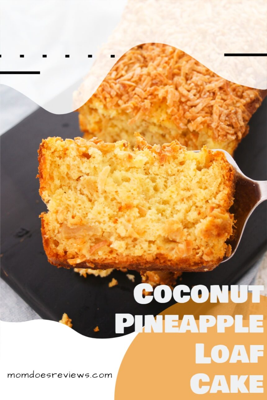 Coconut Pineapple Loaf Cake #desserts #recipe #sweets