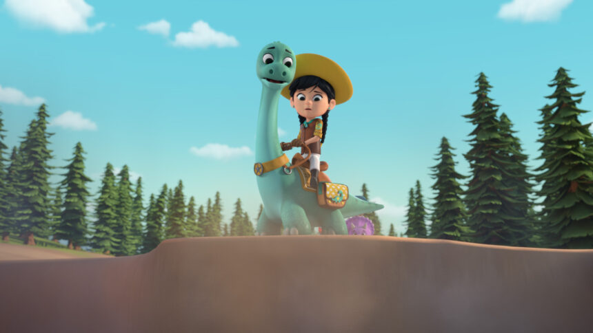 Don't miss Dino Ranch on Disney Junior! #DinoRanch