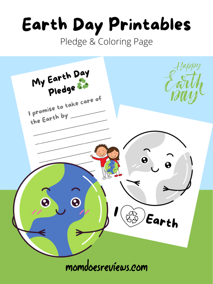 Celebrate Earth Day with Free Printables!