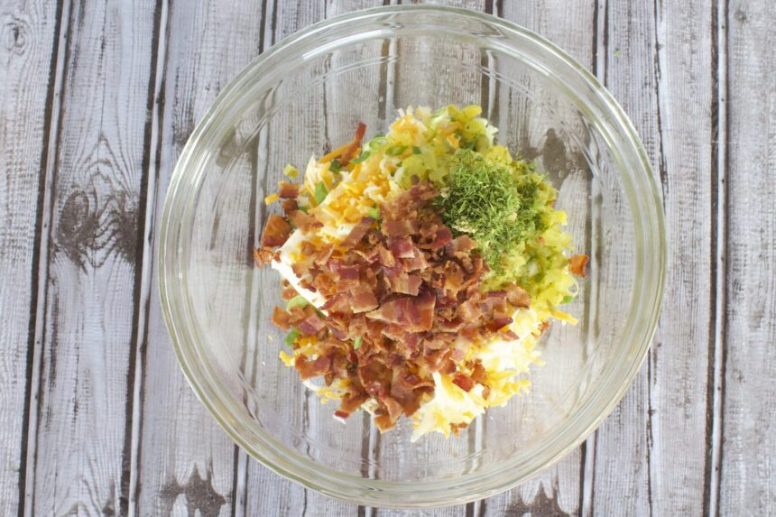 Bacon Dill Pickle Dip