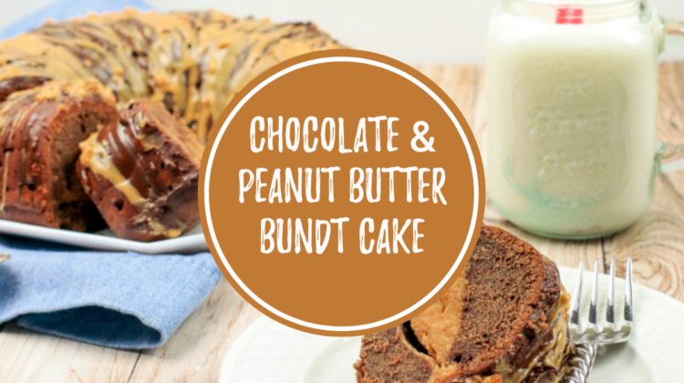 Chocolate Bundt Cake with Peanut Butter Fluff Filling