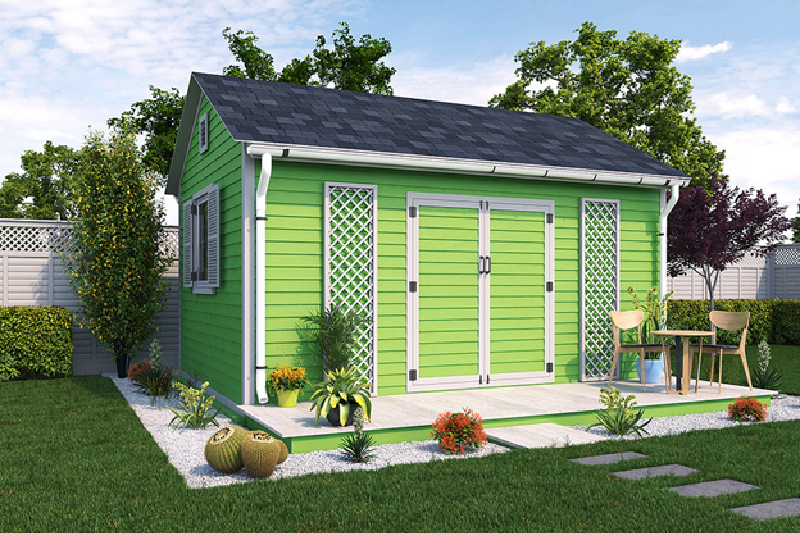 How to Save Money Building a 12x16 Garden Shed
