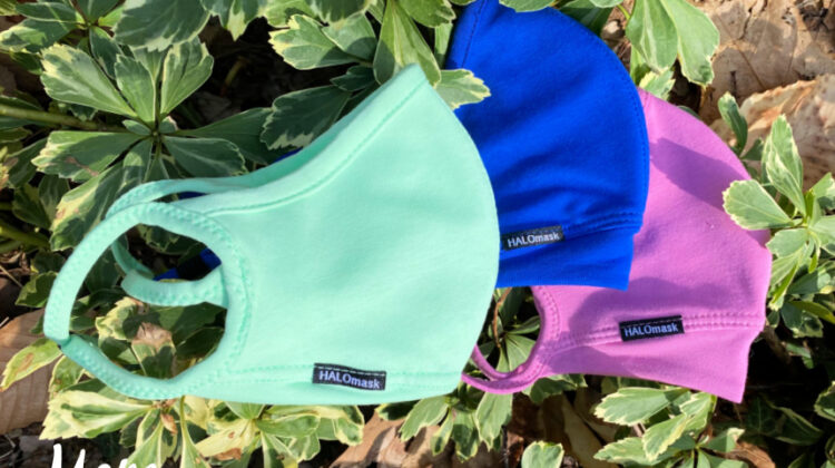 Protective & Comfortable Masks in Spring Colors from HALOmask! #SpringintoSummerFun