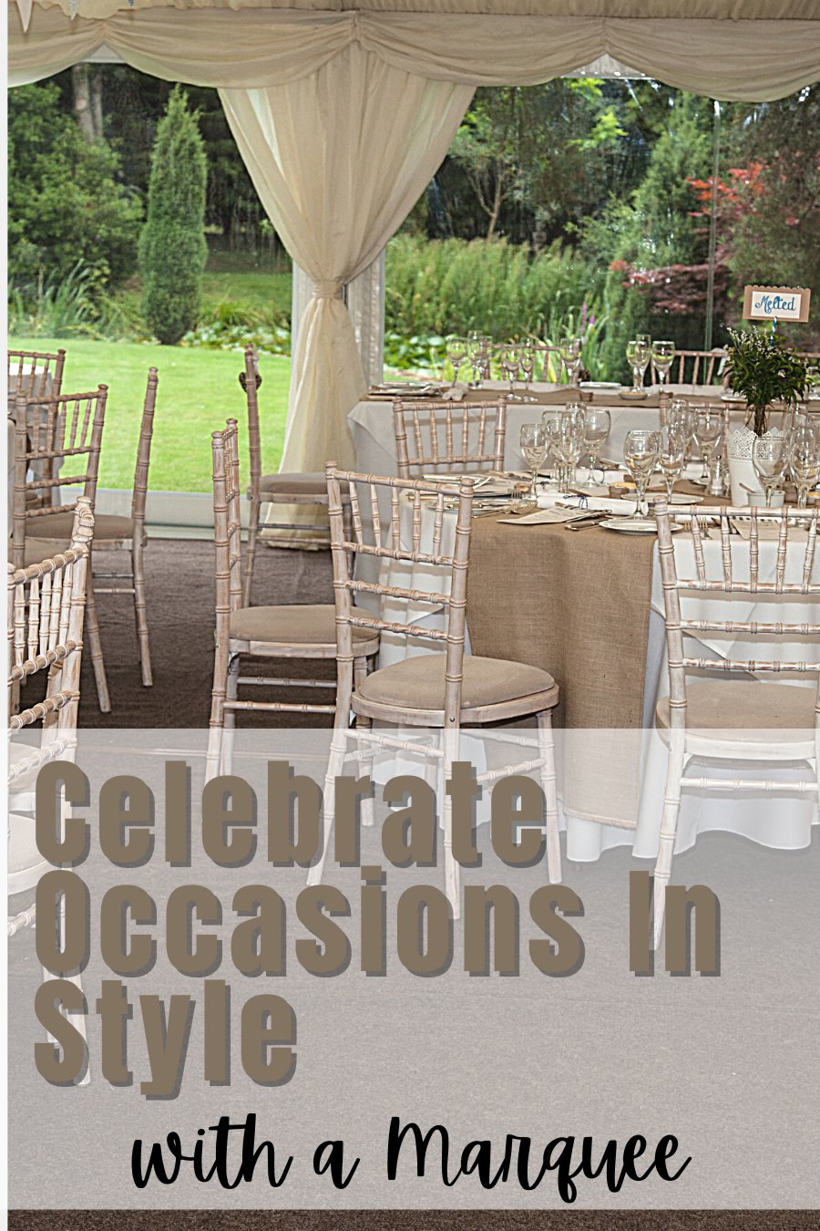 Celebrate Occasions In Style With A Marquee