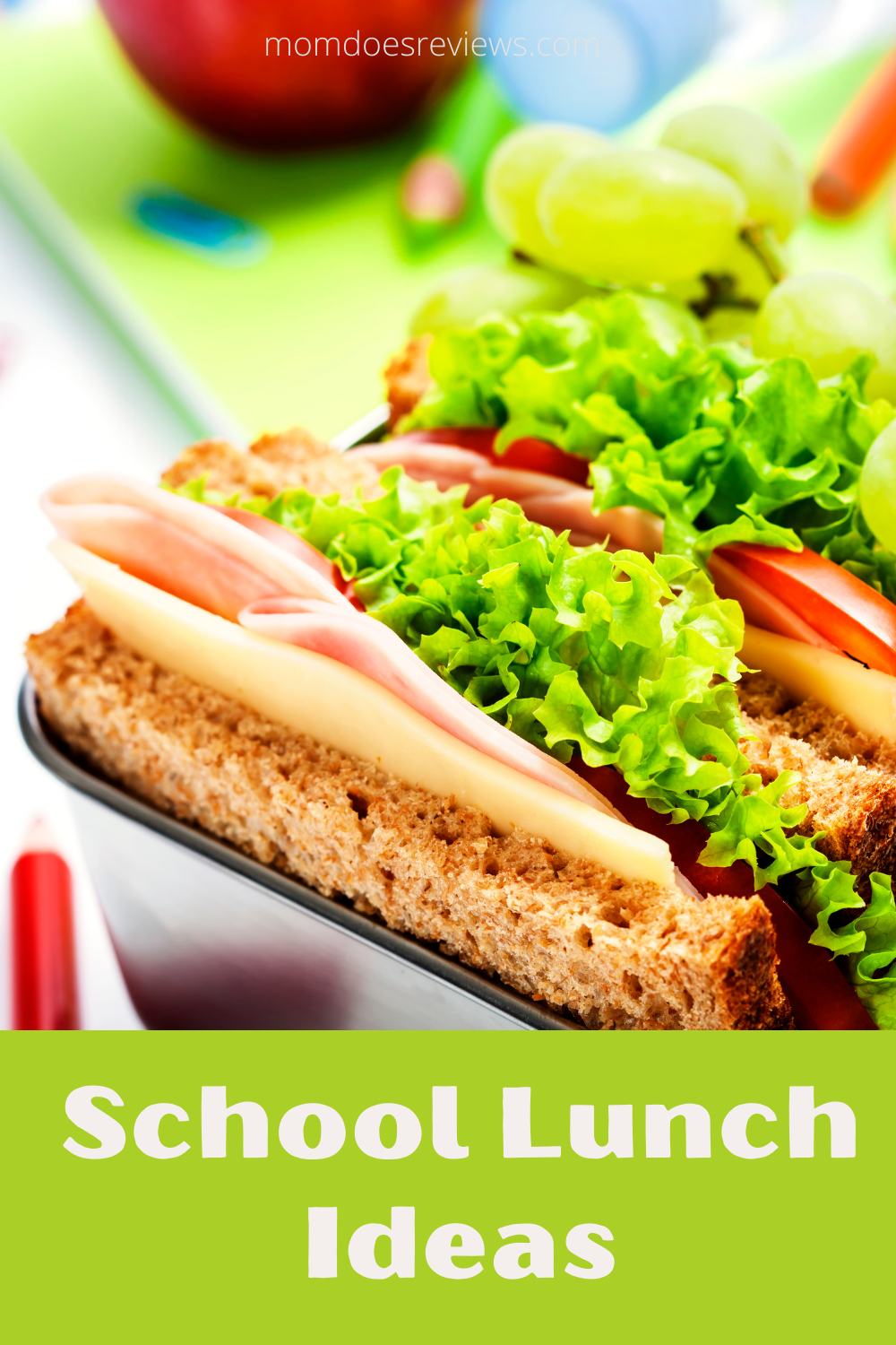4 School Lunch Ideas for Busy Parents and Kids