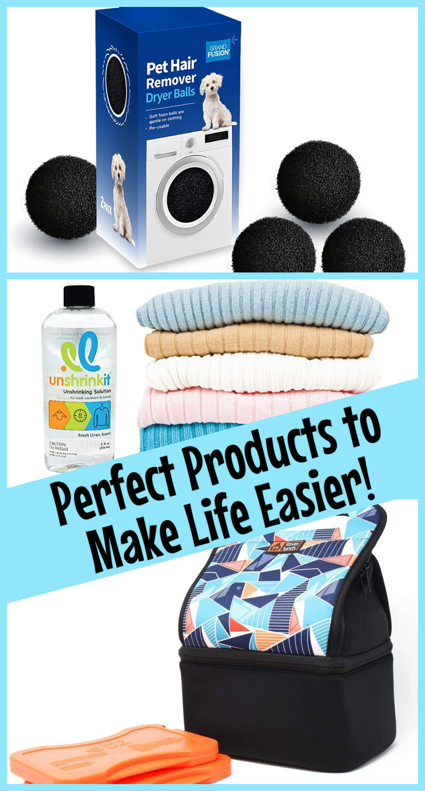 3 New Products to Make Your Life Easier- From Laundry to Lunch! #SpringIntoSummerFun