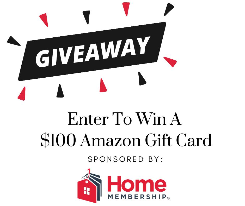 #Win $100 Amazon GC from HomeMembership! US, ends 4/27