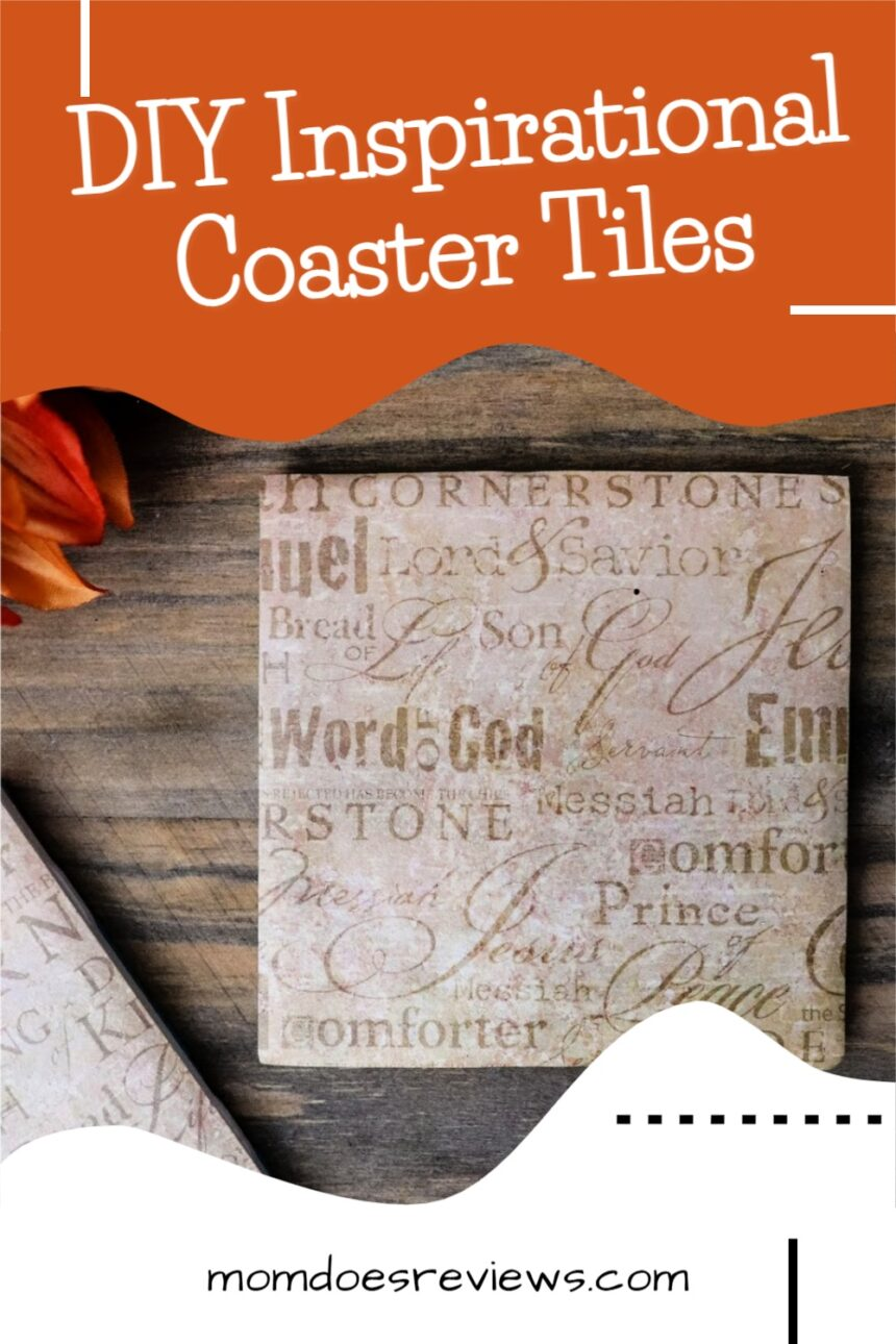 DIY Inspirational Coaster Tiles