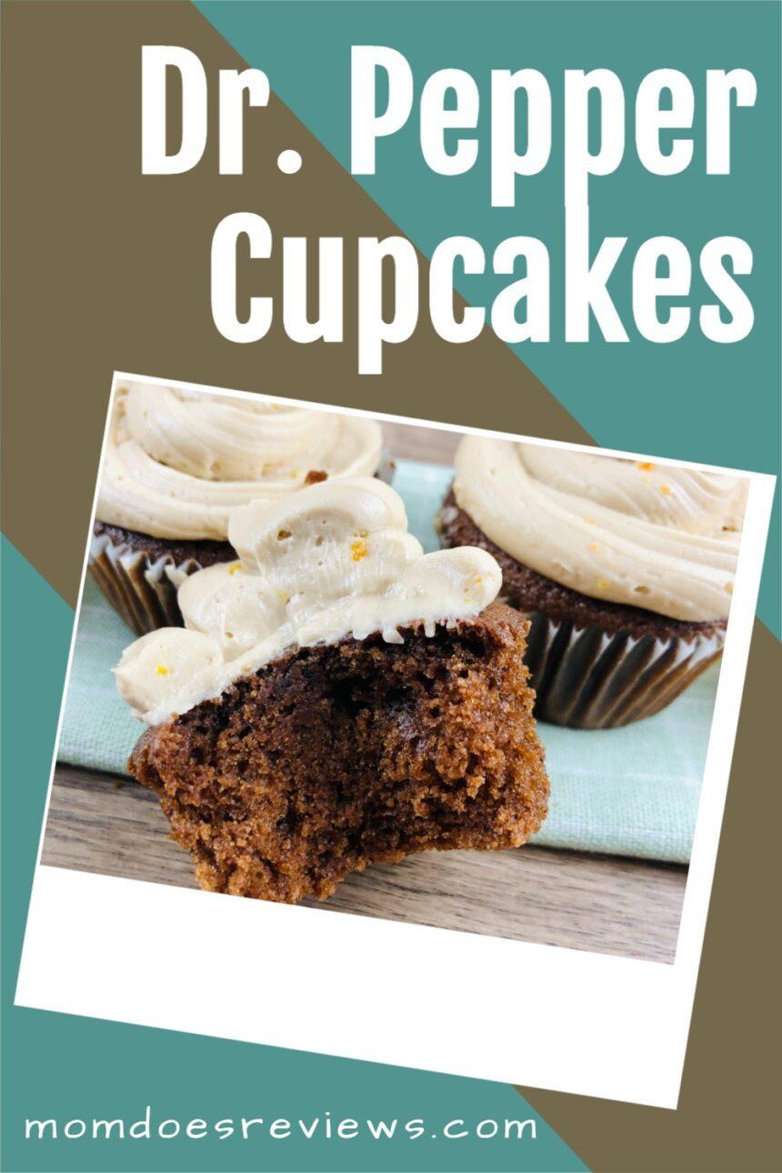 Dr. Pepper Cupcakes #recipe #cupcake #desserts