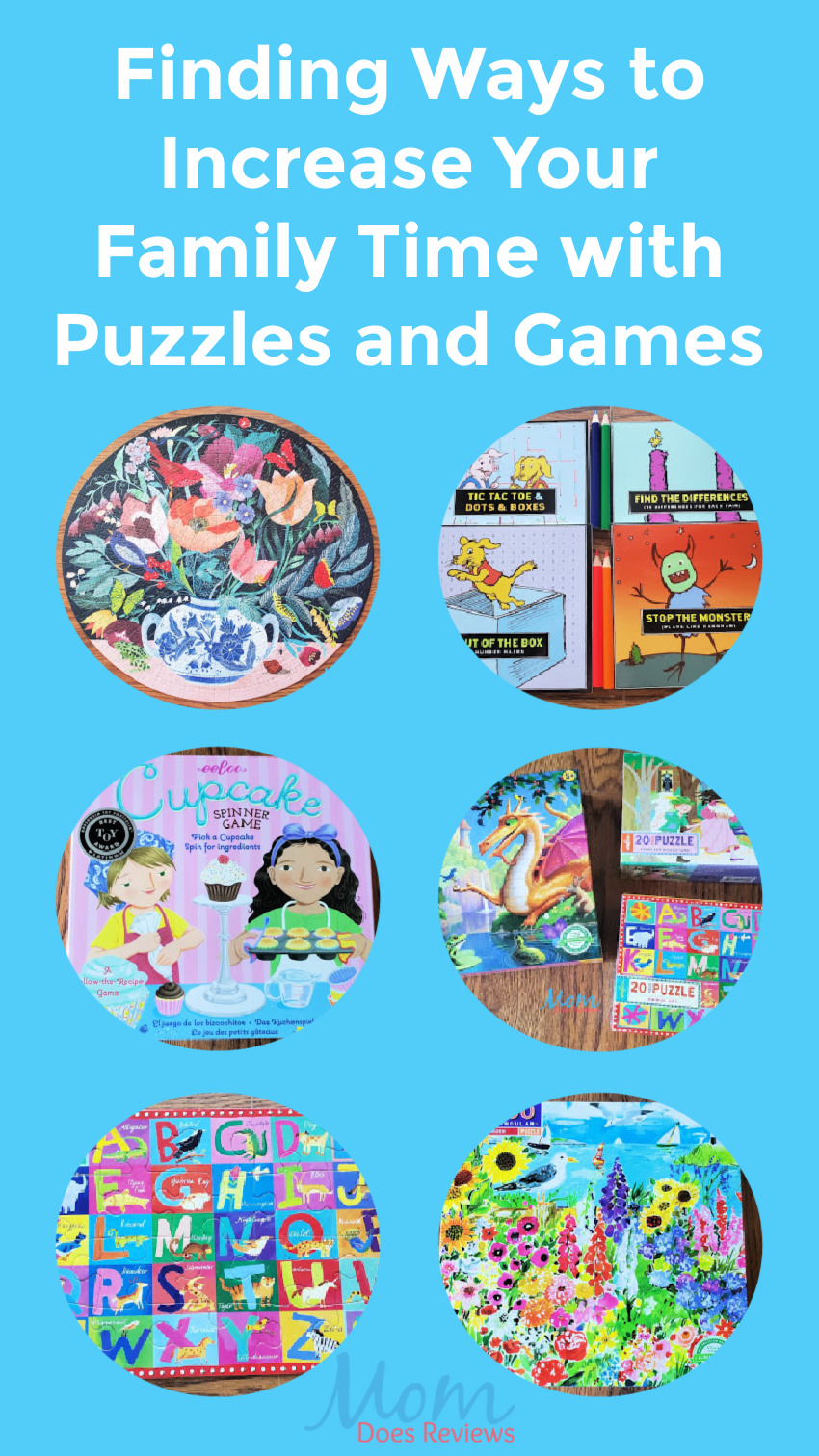 Finding Ways to Increase Your Family Time with Puzzles and Games